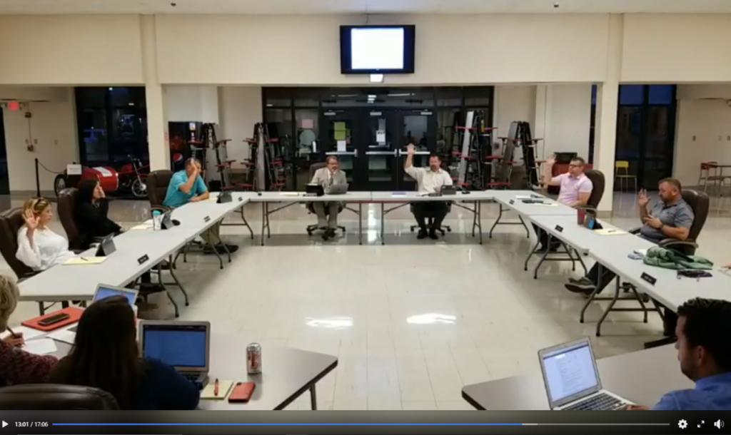 KCR-1 School Board Votes on 8-man football 9-15-20